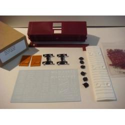 Milw 40 Foot Ribside Hatch Top Boxcar Kit by Stan Rydarowicz (HO Only)