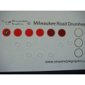MILW Passenger Car Drumheads H/N